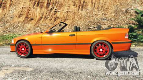 GTA 5 BMW 328i (E36) M-Sport v1.1 [replace] left side view