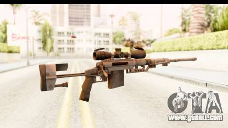 Cheytac M200 Intervention Black for GTA San Andreas second screenshot