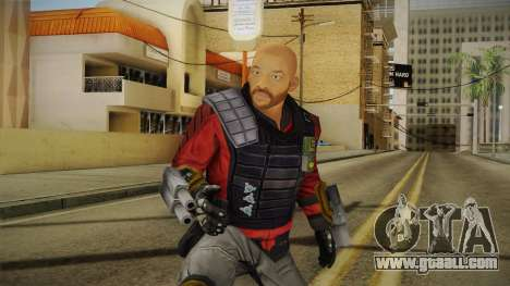 Will Smith - Deadshot v2 for GTA San Andreas