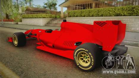 Lotus F1 T125 for GTA San Andreas