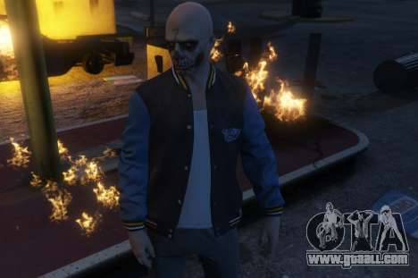 Suicide Squad El Diablo for GTA 5