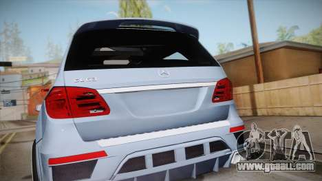 Mercedes-Benz GL63 Brabus for GTA San Andreas right view
