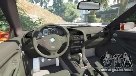 GTA 5 BMW 328i (E36) M-Sport v1.1 [replace] right side view