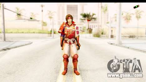 Sengoku Musou 4 - Sanada Yukimura for GTA San Andreas second screenshot