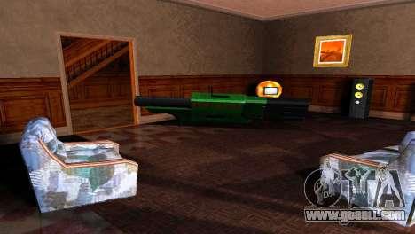 BAZUKA RLX-9157 for GTA San Andreas fifth screenshot