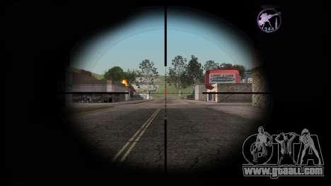 Heavysniper rifle for GTA San Andreas third screenshot