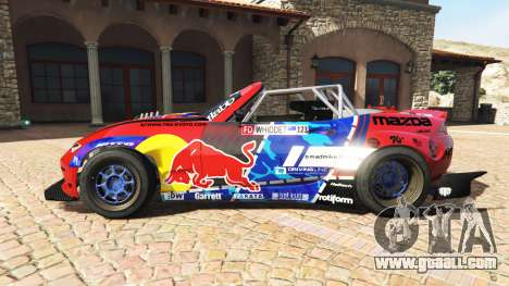 GTA 5 Mazda MX-5 (ND) RADBUL Mad Mike v1.1 [replace] left side view