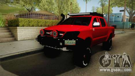 Toyota Hilux 2010 Venezolana de Off Road for GTA San Andreas