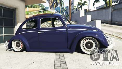 GTA 5 Volkswagen Fusca 1968 v0.9 [add-on] left side view