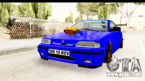 Rover 220 Kent Edition de Haur for GTA San Andreas back left view