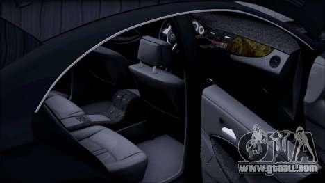 Mercedes-Benz Cls 630 for GTA San Andreas upper view