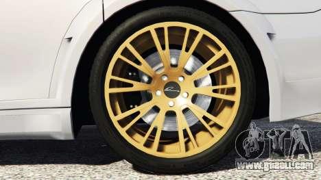 GTA 5 BMW 760Li (F02) Lumma CLR 750 [add-on] rear right side view