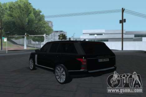 Land Rover Range Rover Vogue for GTA San Andreas left view