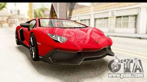Lamborghini Aventador LP720-4 2013 for GTA San Andreas right view