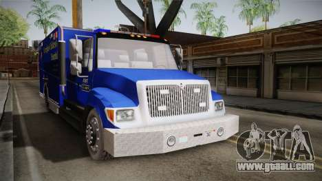 International Terrastar Ambulance 2014 for GTA San Andreas right view