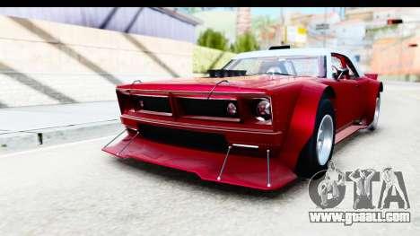 GTA 5 Declasse Tampa Drift IVF for GTA San Andreas right view