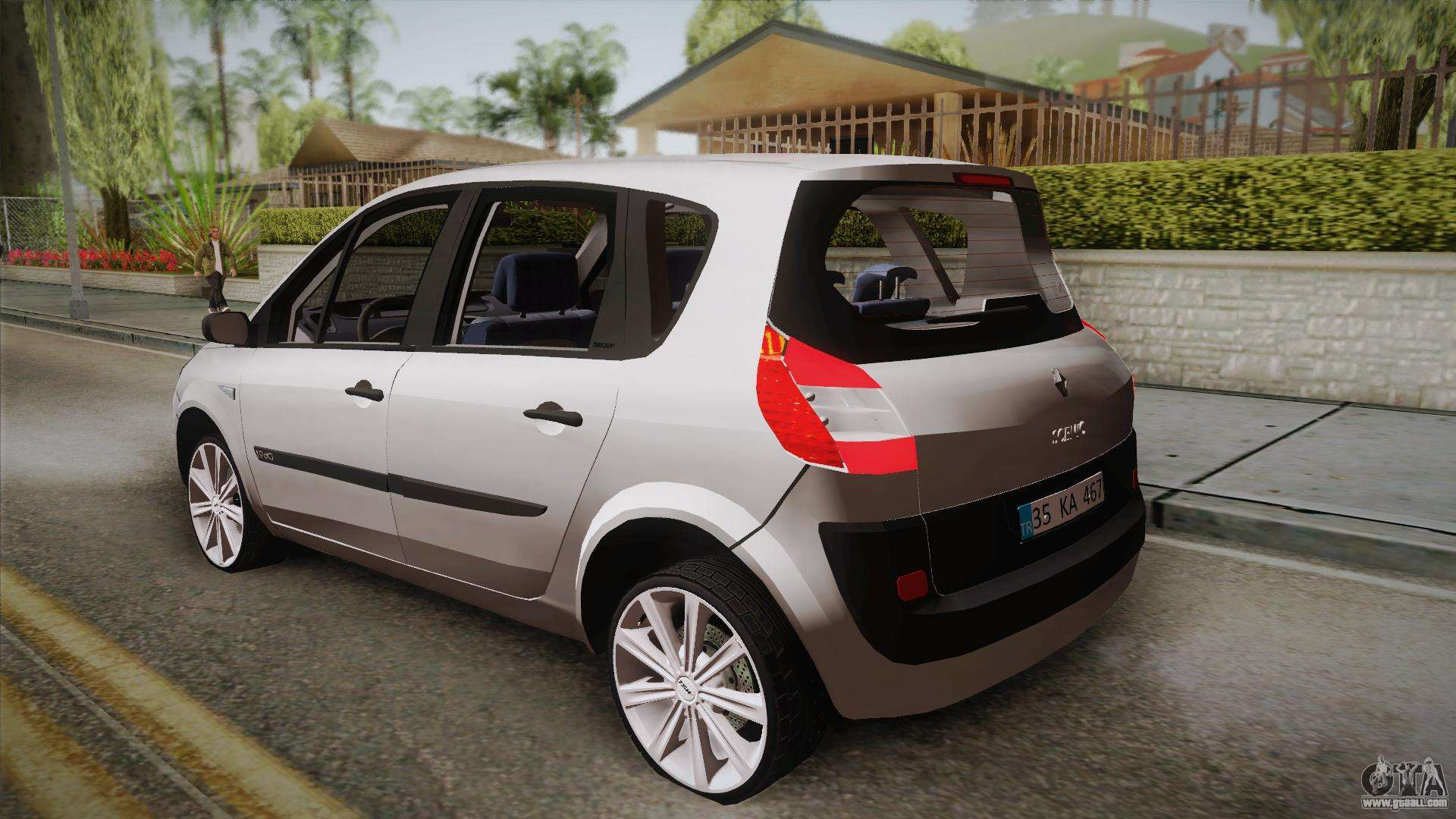 renault scenic ii for gta san andreas. Black Bedroom Furniture Sets. Home Design Ideas