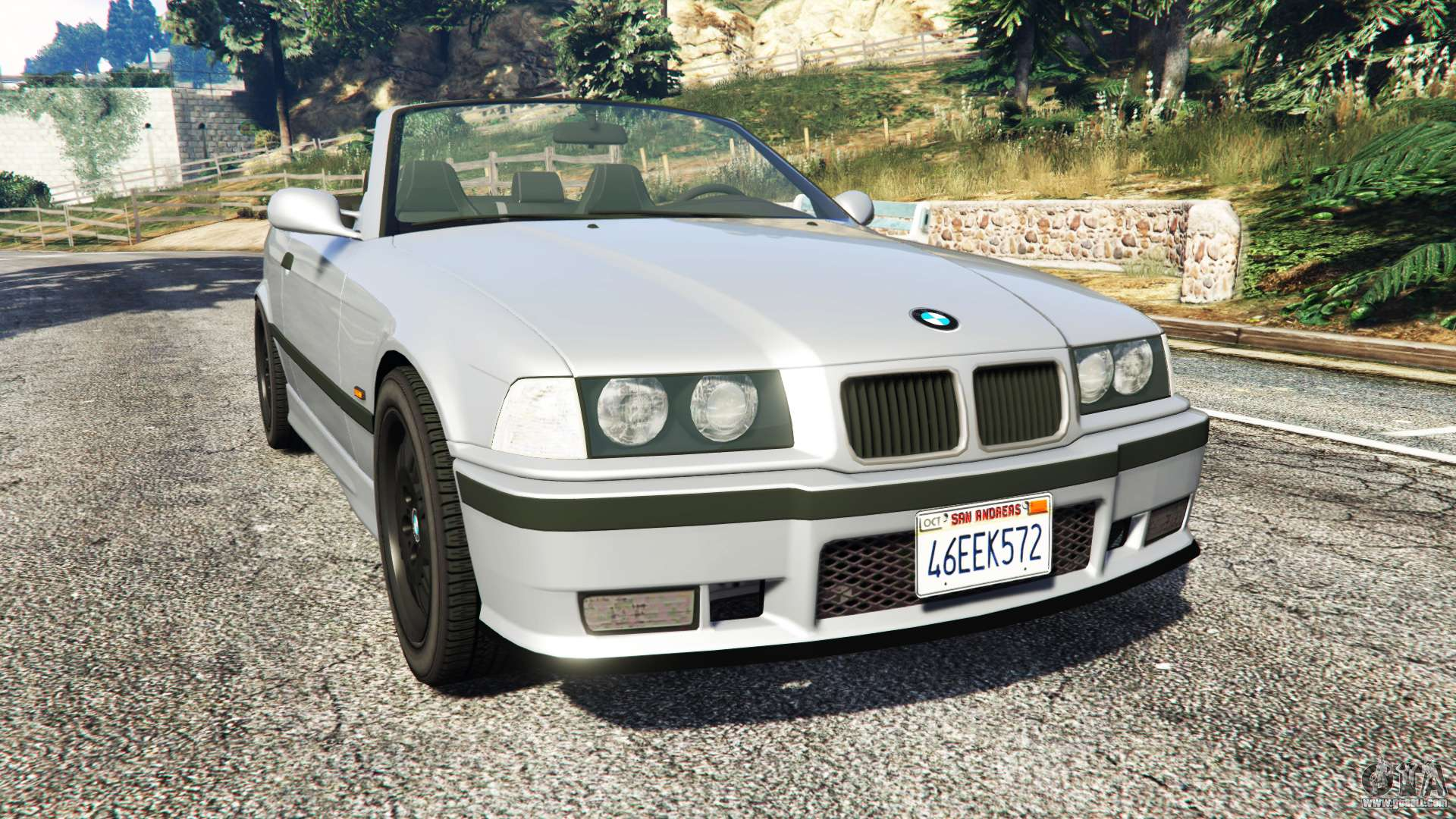 bmw 328i e36 m sport replace for gta 5. Black Bedroom Furniture Sets. Home Design Ideas
