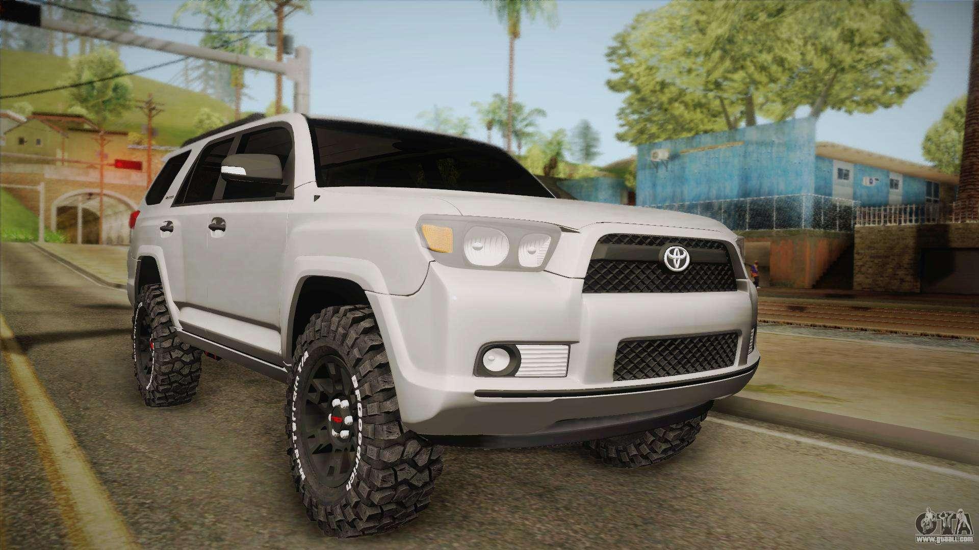 Ford Raptor Bronco >> Toyota 4runner 2010 for GTA San Andreas
