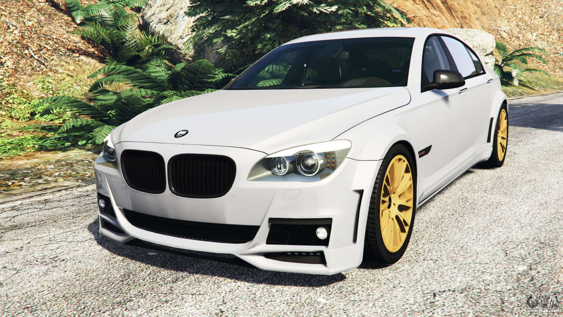 BMW 760Li F02 Lumma CLR 750 Add On For GTA 5