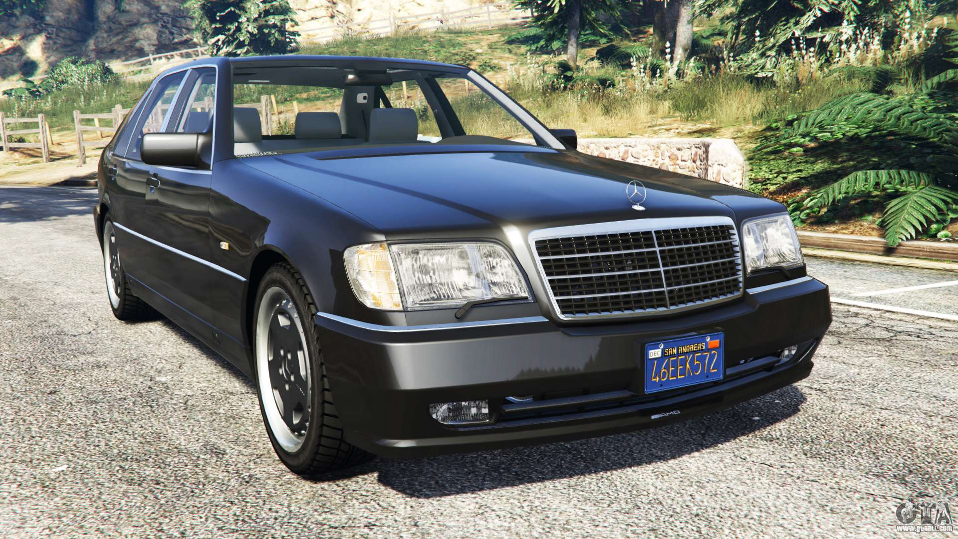 mercedes benz w140 amg replace for gta 5. Black Bedroom Furniture Sets. Home Design Ideas