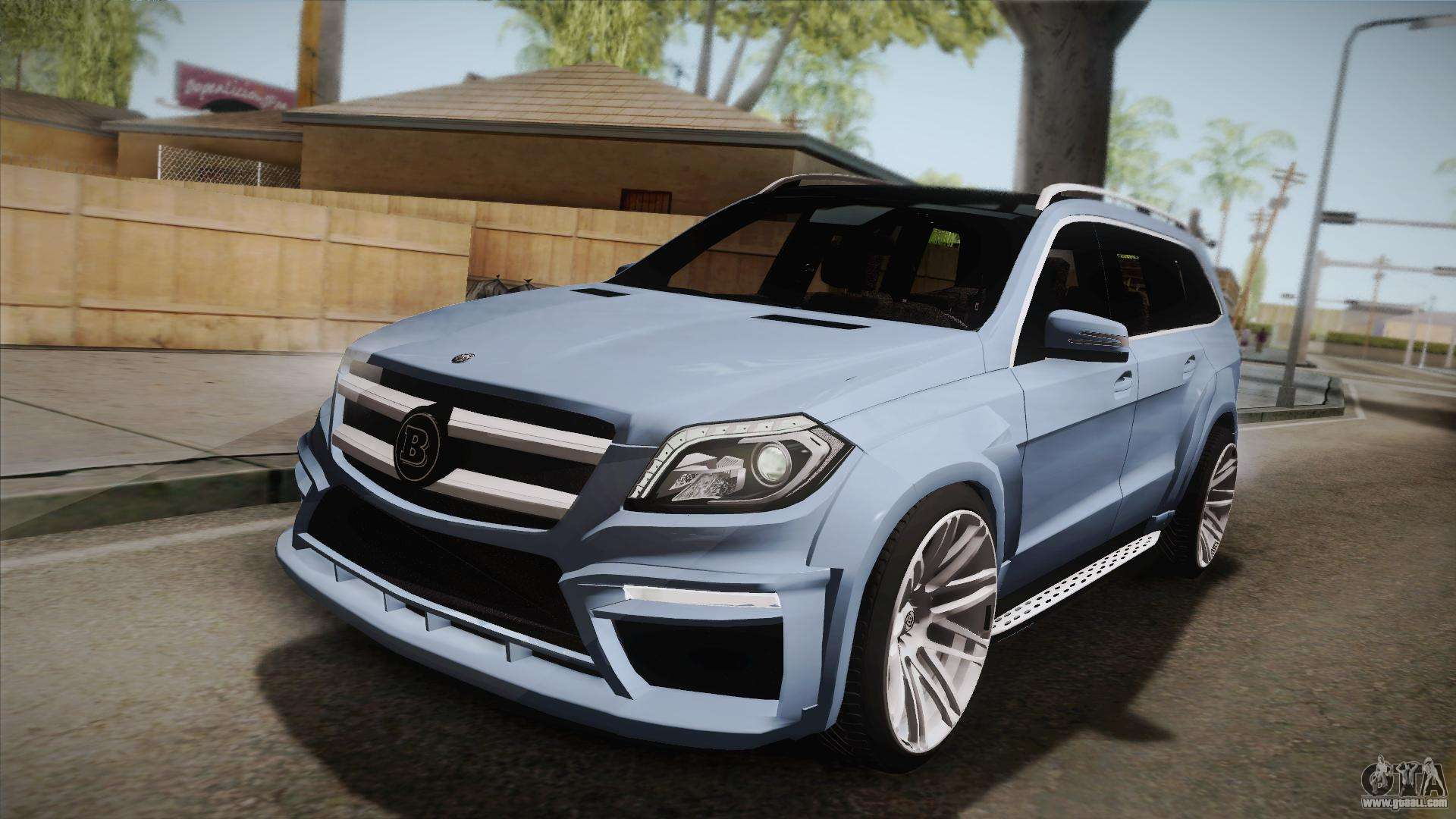 Mercedes benz gl63 brabus for gta san andreas for Mercedes benz gl63