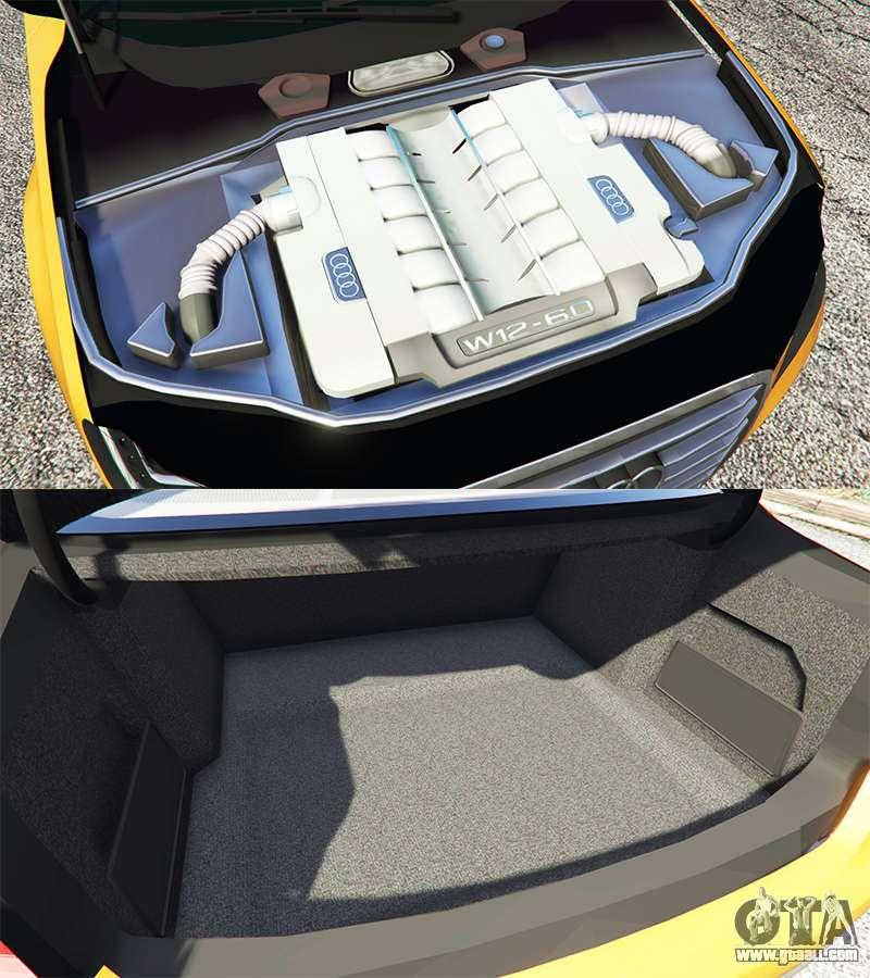 2013 Audi A8 Interior: Audi A8 L (D4) 2013 [replace] For GTA 5