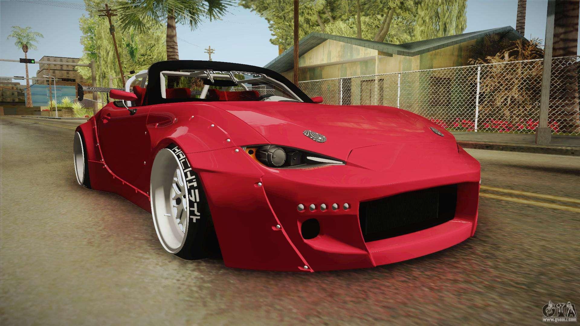 Mazda MX 5 2016 Hachiraito For GTA San Andreas · Cars