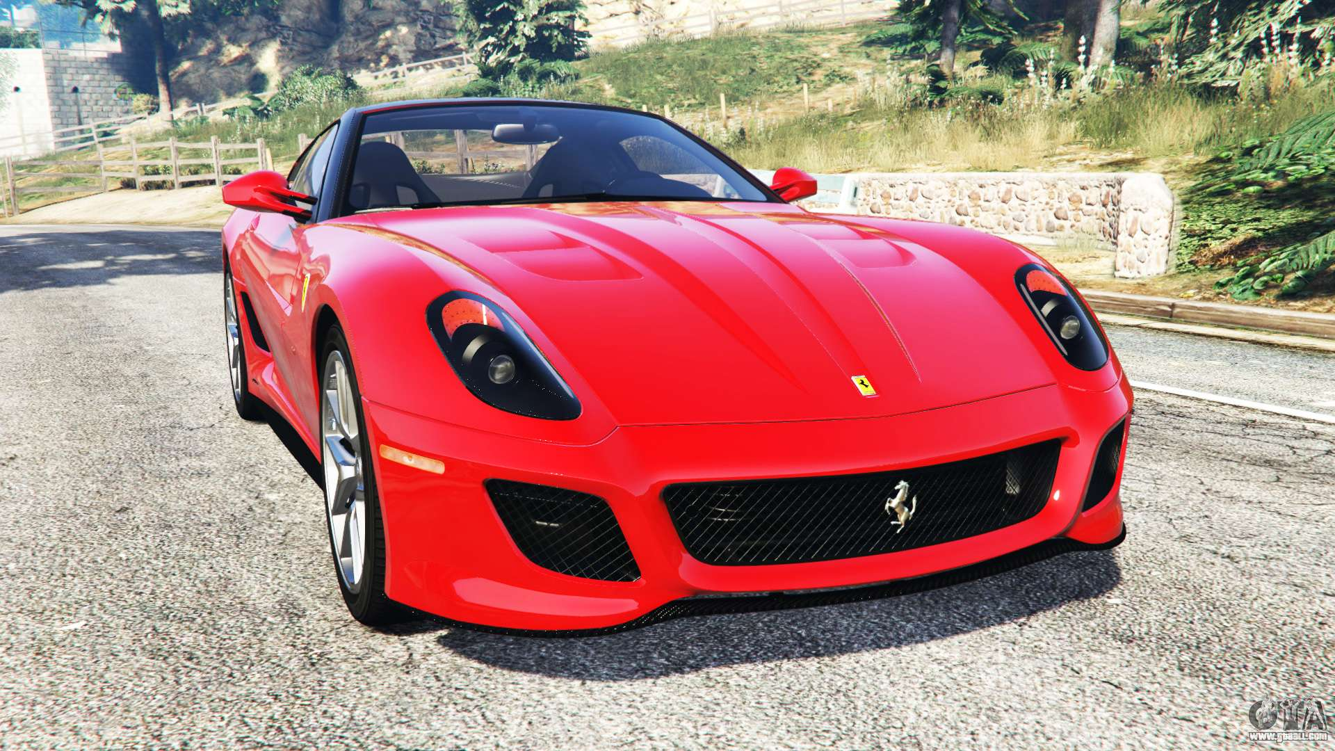 ferrari 599 gto replace for gta 5. Black Bedroom Furniture Sets. Home Design Ideas