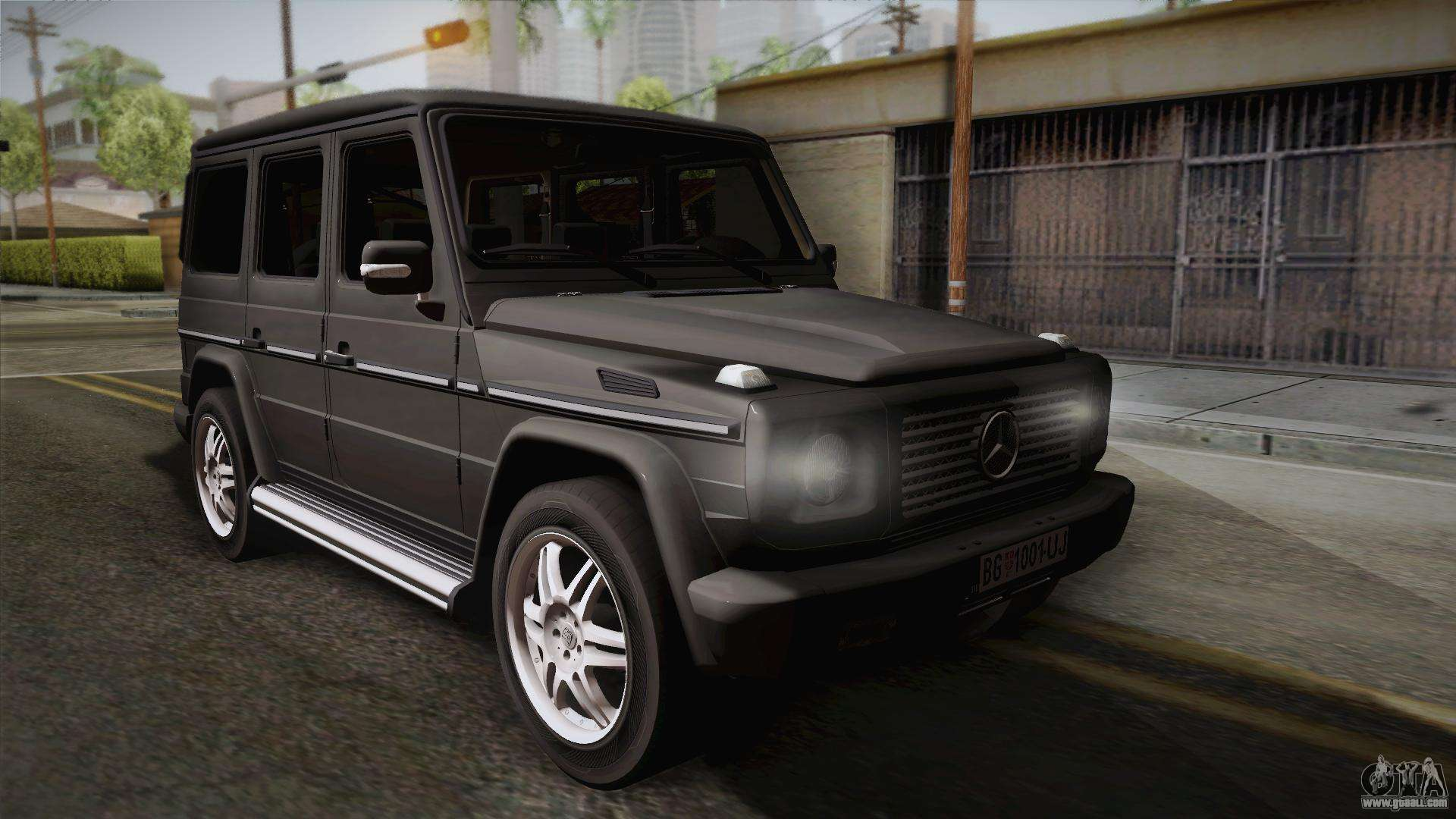 Mercedes benz g500 for gta san andreas for Mercedes benz g500