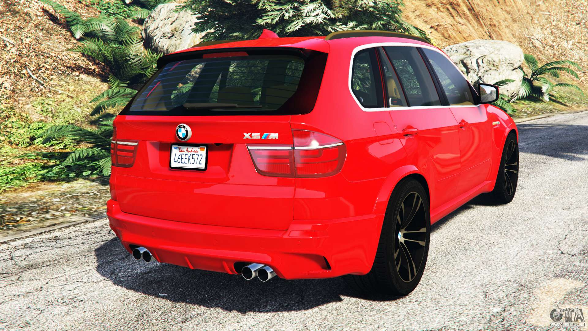 bmw x5 m e70 2013 v0 3 replace for gta 5. Black Bedroom Furniture Sets. Home Design Ideas