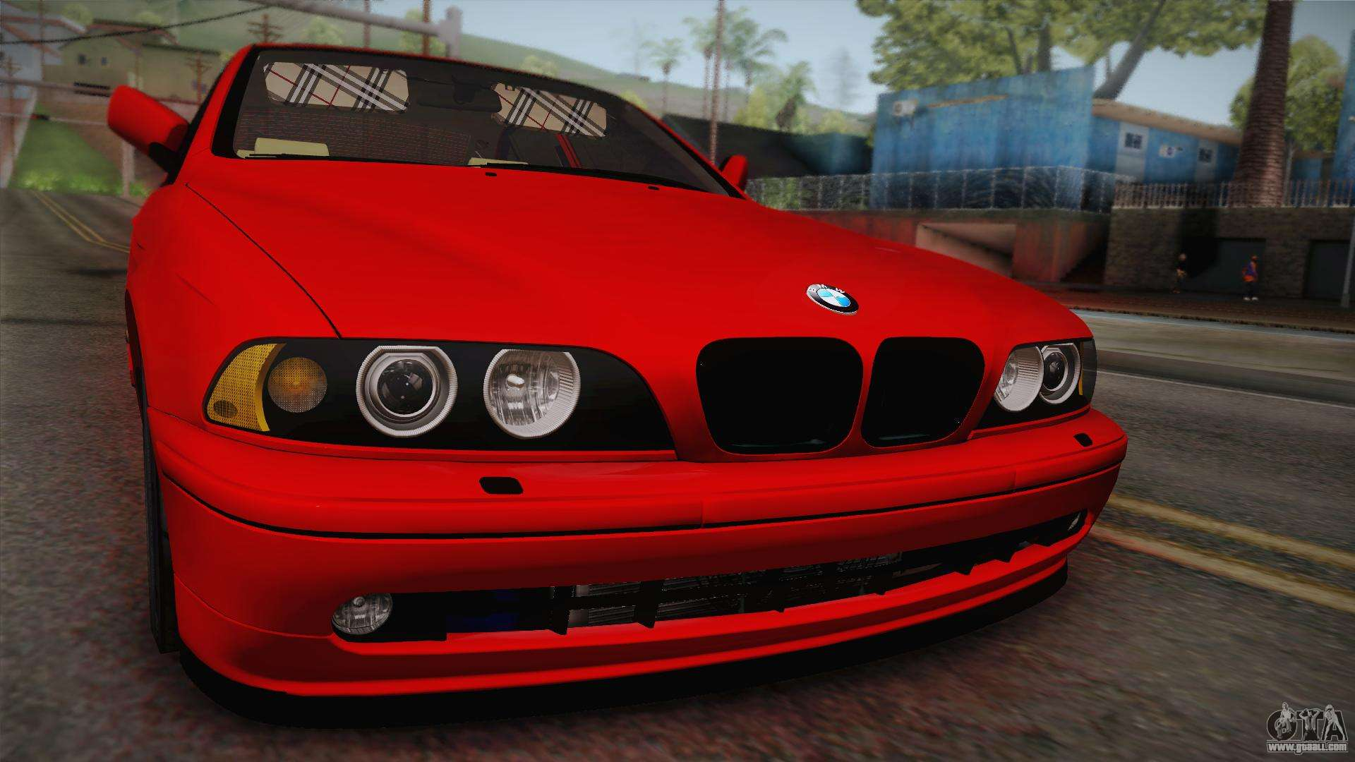 bmw 530d e39 red black for gta san andreas. Black Bedroom Furniture Sets. Home Design Ideas