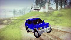 Mitsubishi Pajero 3 Beta for GTA San Andreas