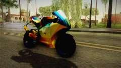 Rainbow Motorcycle for GTA San Andreas