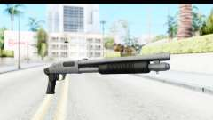 Tactical Mossberg 590A1 Chrome v1 for GTA San Andreas