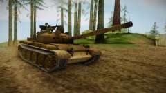 T-62 Desert Camo v3 for GTA San Andreas