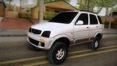 Toyota Daihatsu Terios 2000 for GTA San Andreas