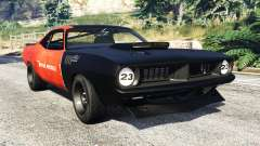 Plymouth Cuda BeckKustoms for GTA 5