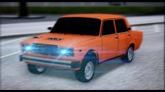 VAZ 2105 patch 2.0 for GTA San Andreas
