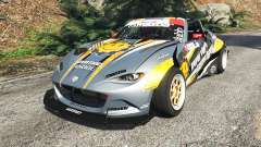 Mazda MX-5 (ND) RADBUL Mango [replace] for GTA 5