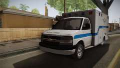 Chevrolet Express 2011 Ambulance for GTA San Andreas