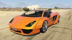 Pegassi Vacca RocketCow Widebody for GTA 5