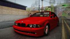 BMW 530d E39 Red Black for GTA San Andreas