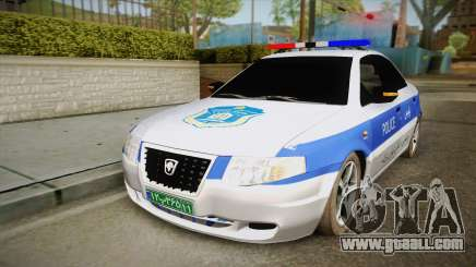 Ikco Samand Police v2 for GTA San Andreas