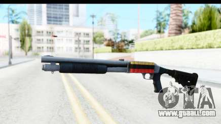 Tactical Mossberg 590A1 Chrome v2 for GTA San Andreas