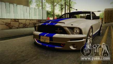 Ford Mustang Shelby GT500KR Super Snake for GTA San Andreas