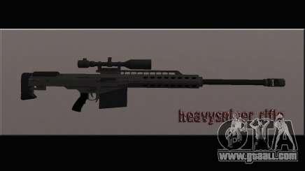 Heavysniper rifle for GTA San Andreas