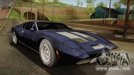 AMC AMX 3 39 1970 for GTA San Andreas