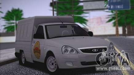 Lada Priora Budka for GTA San Andreas