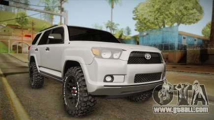Toyota 4runner 2010 for GTA San Andreas